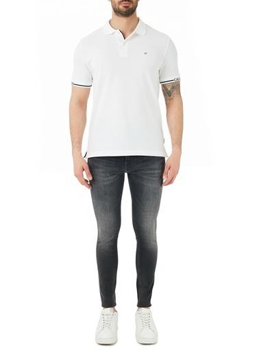 Calvin Klein  Süper Skinny Pamuklu Jeans Erkek Kot Pantolon J30J317206 1Bz Gri